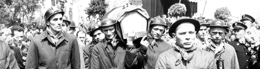Funérailles des mineurs